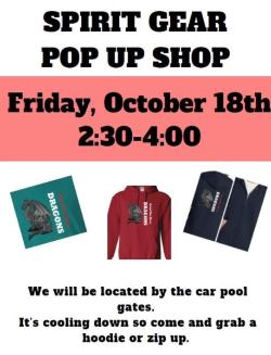 PTSO Spirit Gear POP-UP Shop