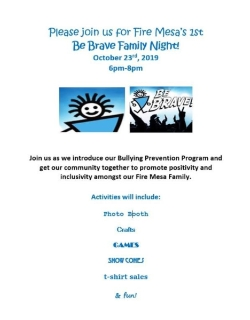 Be Brave Family Night